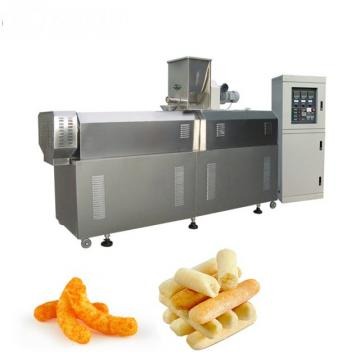 Large Output Automatic Snacks Frying Production Line Machine