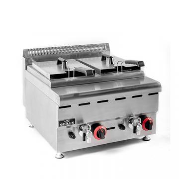 Commercial Oil-Water Separation Gas Large Capacity Fryer China Fryer