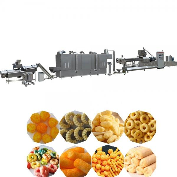 Puffed Corn Snack Extruder Extruded Rice Puff Food Corn Ring Extrusion Making Machine Production Line #1 image