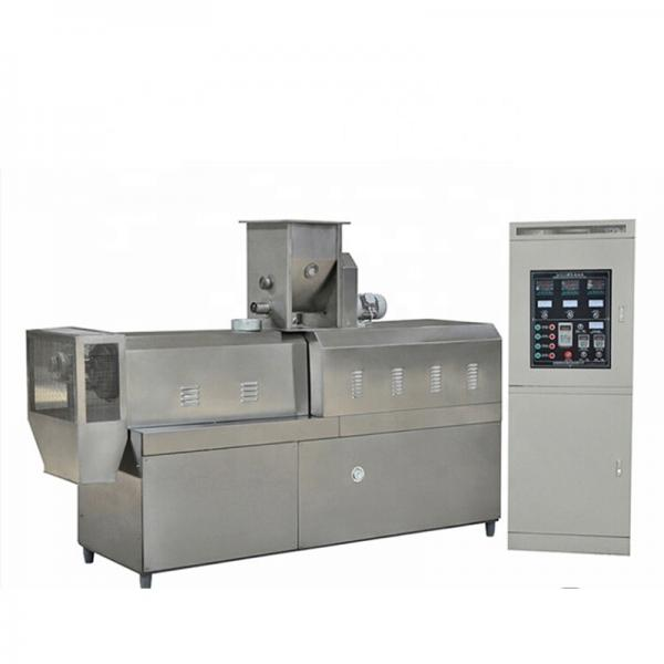 Wheat Flour Puffed Snack Foods Making Production Extruder Machine #1 image