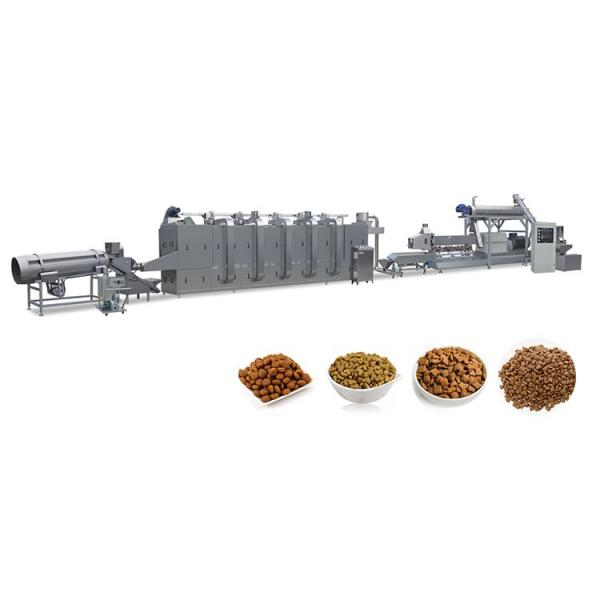 Dry Nutritional Dog Food Machine Pet Food Extrusion Machine Extruder Production Line #3 image