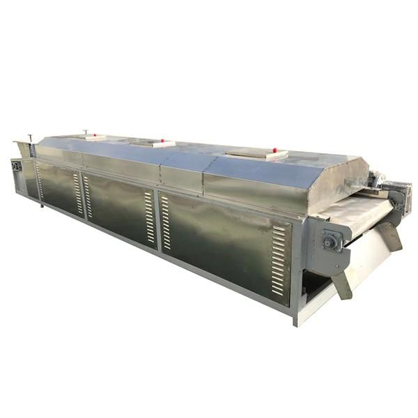 Jinan Himax Machinery Continuous Multiple Drying Zones Tunnel Multilayer Conveyor Mesh Belt Continuous Oven Belt Type Rotary Dryer #1 image