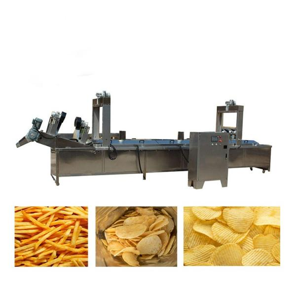 Stainless Steel Industrial Potato Chips Cold Air Drying Machine Air Dryer Vegetable Dewatering Machine #2 image