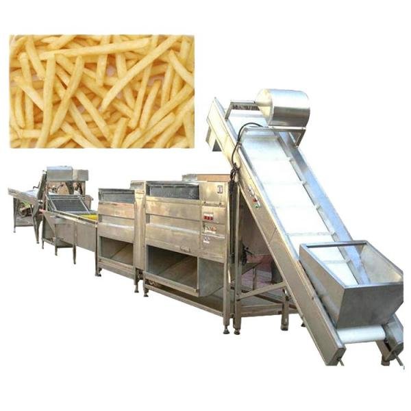 Stainless Steel Industrial Potato Chips Cold Air Drying Machine Air Dryer Vegetable Dewatering Machine #3 image