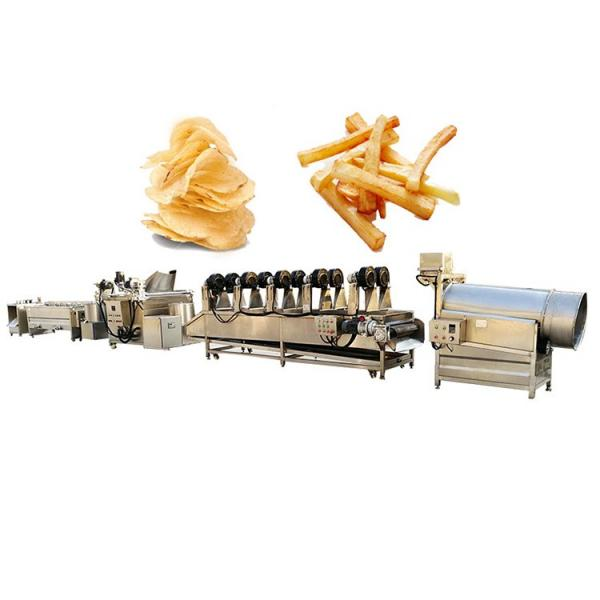 Automatic Kitchen Equipment Commercial Gas Frying Machine for Potato Chips Nuts Beans #1 image