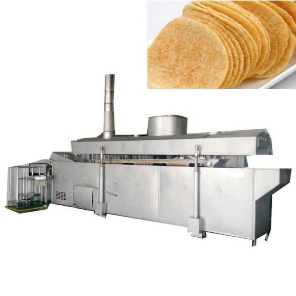 Automatic Kitchen Equipment Commercial Gas Frying Machine for Potato Chips Nuts Beans #2 image