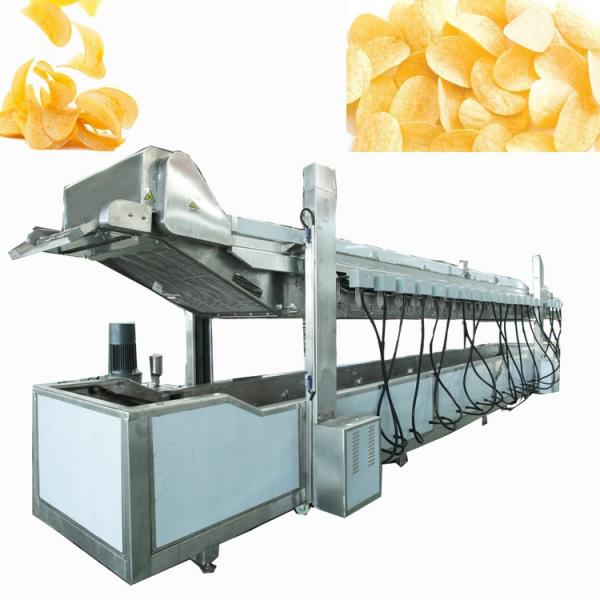 Commercial Ce Approved Standing with Potato Chips Frying Machi with Potato Chips Frying Machine #1 image