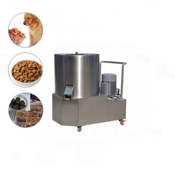 High Quality Animal Pet Cat Dog Food Machine Chicken Bird Floating Fish Feed Twin Screw Extruder Processing Line Snacks Food Making Machinery Plant #1 image